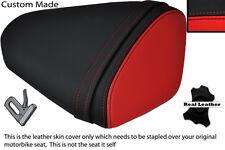 BLACK & RED CUSTOM FITS KAWASAKI 08-10 ZX10 R NINJA 1000 REAR SEAT COVER