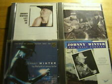 Johnny Winter [4 CD Alben] Let me + BEST + Hey + Texas