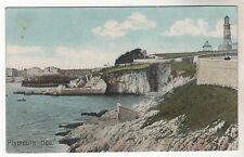 Plymouth Hoe - Photo Postcard c1905 / Devon