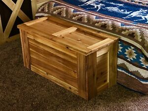 "Cedar Chest Trunk Hope Chest Toy Box 37"" Solid Cedar"