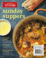 Americas's Test Kitchen  Sunday Suppers 2020