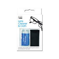 2 Pcs Glasses Lens Cleaning Kit - 30ml Lens Cleaner Spray & Microfibre Cloth GEM