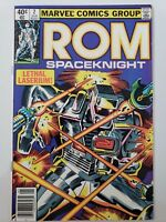 ROM #2 (1980) MARVEL COMICS SPACEKNIGHT! 2ND APPEARANCE! HTF NEWSSTAND VARIANT