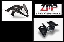 NEW YAMAHA RAPTOR 700 13 - 16 STEALTH BLACK PLASTIC FRONT AND REAR FENDERS