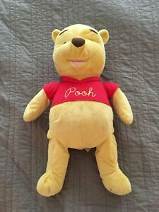 "2005 Winnie The Pooh Disney 24"" Stuffed Large Plush 80th Anniversary Edition"