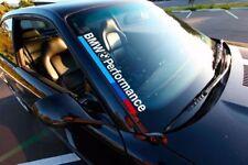 Pegatina sticker bandera luna delantera cristal BMW m3 performance stance 55 cm