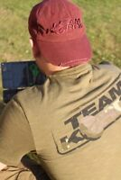 Korda Kore TK Tee Olive Coarse Carp Match Fishing T-Shirt - All Sizes