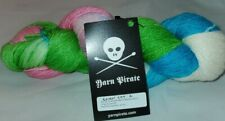 SKEIN/HANK OF YARN PIRATE 460 YD BAMBOO/MERINO/NYLON BLEND YARN - EASTER EGG