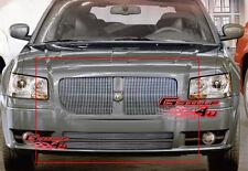 Fits 2005-2007 Dodge Magnum Vertical Billet Grille Combo