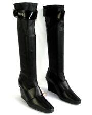 STEPHANE KELIAN - Bottes compensées similicuir stretch noir 8 40  EXCELLENT ETAT