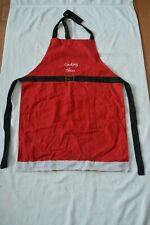 """New listing Santa Claus """"Cooking Claus"""" Christmas Apron w/Pocket ~ One Size Fits Most"""