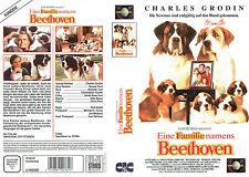 (VHS) una famiglia chiamata Beethoven-Charles Grodin, Bonnie Hunt, Nicholle Tom