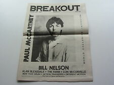 PAUL McCARTNEY coverstar & Entrevista Sobre Breakout Merseyside Música Papel