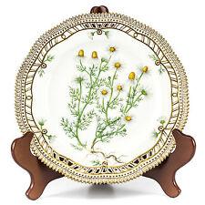 "Royal Copenhagen Porcelain Flora Danica Matricaria Chamomilla L. 9"" Plate"