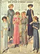 A4 Photo T Eaton Fall & Winter Catalogue 1913 Misses Dresses Print Poster