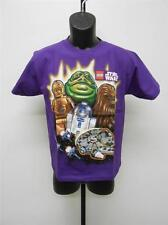NEW-STAR WARS JABA THE HUT CHEWY C3PO R2D2 YOUTH LARGE L SIZE 14-16 SHIRT 65WG