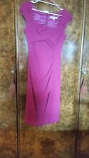 "Lk Bennett ""Tina"" magenta dress size 8"