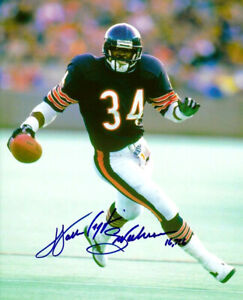 WALTER PAYTON 8X10 SIGNED PHOTO PICTURE CHICAGO BEARS REPRINT