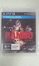 Rambo the Video Game (Move Compatible) PS3 Brand New and Sealed