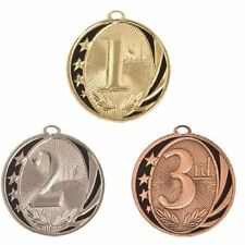 3 Pieces 1st 2nd 3rd Place Medal Award Trophy W/Free Lanyard $3.49 Each