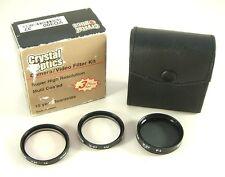 Crystal Optics 37mm Camera/Video 3 Piece Lens Filter Kit NEW-DEMO