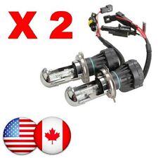 2X HID Bi-XENON HEADLIGHT H4-3 6000k Bulbs 6K Low High BiXenon Cool White 35W