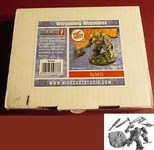 Micro Art FM01M01A Big Troll (1) Miniature Fantasy Monster Warrior Champion Hero