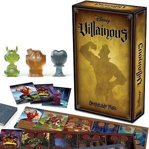 Ravensburger Disney Villainous: Despicable Plots Strategy Board Game for Ages 10