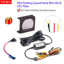 ACC 3 Wire Hardwire & Fuse & CPL Fr Viofo A129 Duo Dash Camers Parking Recording