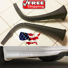 TOYOTA COROLLA 1998-2002 UNPAINTED REAR BUMPER VALANCE LIP 2PC FIBER GLASS NEW