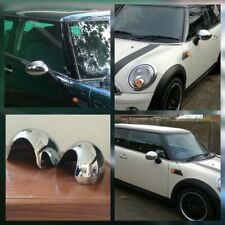 MINI ONE COOPER CONVERTIBLE ROADSTER MK 2 (2006-13) CHROME DOOR MIRROR COVERS