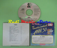 CD ROMANTICI SCATENATI 50 12B TEQUILA compilation 1994 ELVIS PRESLEY ANKA (C39)