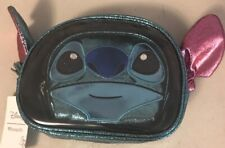 Loungefly Disney Stitch Figural 2 Piece Cosmetic Bag