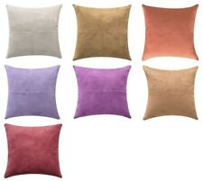 New Arrival/60X60cm/Classic Double Stitching Suede Cushion Cover(Pack of 4 psc)