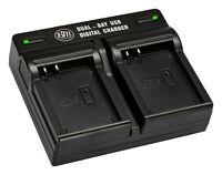 BM EN-EL23 Dual Bay Battery Charger for Nikon Coolpix B700 P600 P610 P900 S810c