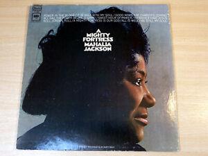 EX/EX- !! Mahalia Jackson/A Mighty Fortress/1968 Columbia Stereo LP/USA Issue