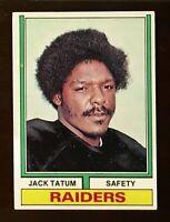 1974 Topps Football #14 Jack Tatum EX-MT+