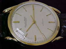 High-Grade Vintage 18 Karat Gold IWC Schaffhausen Automatic Man's Wristwatch