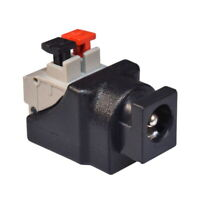 2.1 x 5.5mm DC Power Jack Socket with Qucik Splice Female Chassis Panel Mount