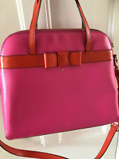 Kate Spade Bag - Hot Pink With Red Accents, Handbag + Crossbody