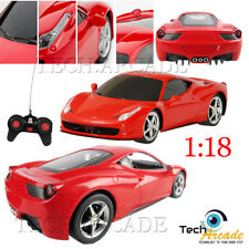1:18 Kids Toy Ferrari 458 Italia Style RC Remote Control Car with Working Lights