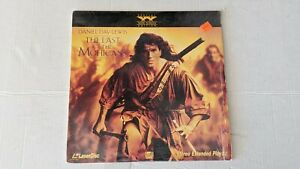 The Last Of The Mohicans  Widescreen  LaserDisc Daniel Day Lewis