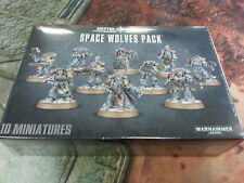 WARHAMMER 40K SPACE WOLVES PACK-NUOVO e SIGILLATO
