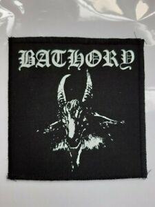 Bathory patch,black metal,slayer,punk,Obituary,Morbid Angel,Dismember,