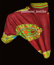 INDIAN BAGGY GYPSY HAREM PANTS YOGA MEN WOMEN BOHEMIAN ALIBABA TROUSERS
