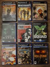 FPS / ACTION Games Bundle Sony PS2 PlayStation 2 - All Complete!