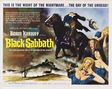 Boris Karloff Black Sabbath horror movie poster print 2