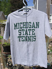 Steve & Barry University Sportwear. Michigan State Tennis Spartans Large T Shirt