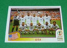 N°277 EQUIPE TEAM USA PANINI FOOTBALL JAPAN KOREA 2002 COUPE MONDE FIFA