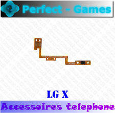LG X nappe bouton touche ON OFF arrêt marche Power button flex cable